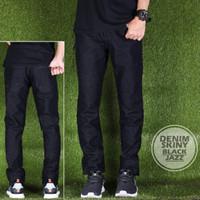 Jual Celana Panjang Cowok Denim Skinny Black Jazz Premium Murah