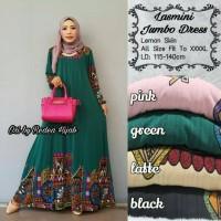 lasmini jumbo dress ori by Radea hijab