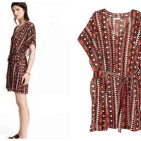 Jual H&M Batwing Ethnic Dress BIG SIZE Murah