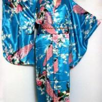 Jual Yukata Kimono jepang modern cantik dari satin Murah