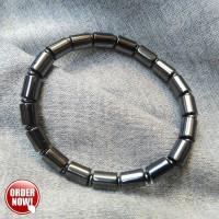 Jual Gelang Tangan Magnet Kesehatan Pria - Giok Hitam Black jade Murah