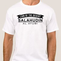 Kaos Islam - Kaos Muslim - Kaos Dakwah - SALAHUDIN AL AYUBI