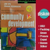 Community Development - Jim Ife & Frank Tesoriero