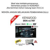 harga Paket Kenwood Ddx-417bt Double Din Tape Head Unit + Camera Pioneer Tokopedia.com