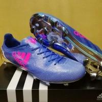 Sepatu Soccer Adidas Adizero F50 99 Gram Blue Pink