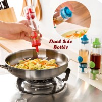 Jual 2 in 1 Botol Kecap Sauce Dual Side Bottle Murah