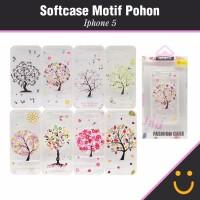 Softcase iPhone 5 Motif Gambar Pohon [ RANDOM ]