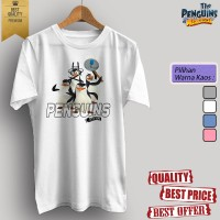 Baju kaos t-shirt dewasa/anak KARTUN TV THE PENGUINS OF MADAGASCAR 06