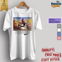 Baju kaos t-shirt dewasa/anak KARTUN TV THE PENGUINS OF MADAGASCAR 09