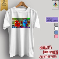 Baju kaos t-shirt dewasa/anak KARTUN TV BILU MELA 03