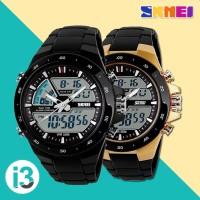 Jam Tangan Pria / Cowok SKMEI AD 1016 Digital Analog Sporty Anti Air