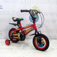 12in United Power Junior BMX Sepeda Anak Laki-Laki Usia 2 - 4 Tahun Re