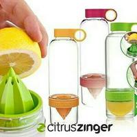 Jual Terlaris Citrus Zinger Water Bottle Twist Infused Botol Minum BPA Free Murah