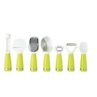 Jual PROMO alat dapur 7 in 1dan wadah kitchen utensil set with stand Murah