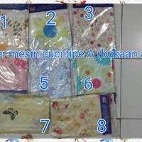 Jual Paling Murah Cover Mesin Cuci type A bukaan atas(satin tebal) Murah
