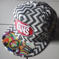 Jual diskon topi hiphop vans motif keren& model terbaru cocok untuk gaya hi Murah