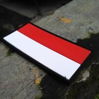 Jual rubber patch brevet perekat bendera indonesia panjang Murah
