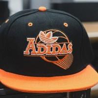 Topi Snapback Baseball Cap Adidas Hitam Import faf0e938c7