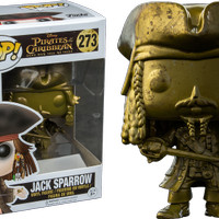 Jual Funko POP Pirates of the Caribbean - Jack Sparrow (Gold) (Exclusive) Murah