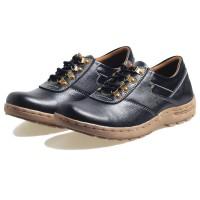 Jual sepatu kulit pria warna hitam kulit asli sepatu kulit cibaduyut 776 Murah