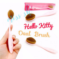 Jual HK Oval Brush (Kuas Foundation Make Up) Murah