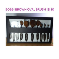 Jual [ isi 10 kuas ] Bobbi Brown  Multipurpose Oval Make Up Brush 10 in 1 Murah