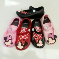 Jual Jelly Shoes Minnie Mickey Murah
