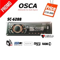 Jual Single Din Tape USB Radio OSCA SC-6288 MP3 Audio Mobil SC6288 MP3   Murah