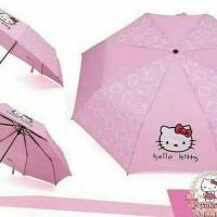 Jual Payung Lipat Hello Kitty Murah