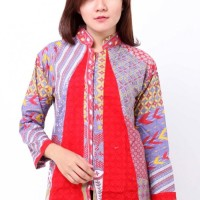 Jual Blus Batik Embos Shanghai Panjang BA6790 Murah