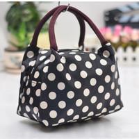 Jual Tas kecil untuk bawa bekal model kanvas Hand bag for lunch - FTS032 Murah