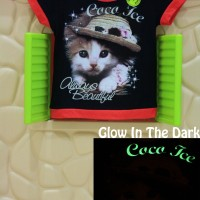 Jual Kaos / Baju Anak Glow In The Dark Coco Ice Black Murah