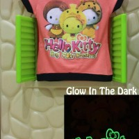 Jual Kaos / Baju Anak Glow In The Dark Hello Kitty BCD Salem Murah