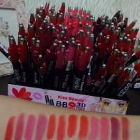 Jual KISS BEAUTY lipstick BB SUPER MATTE 3D Volume 2559 Murah