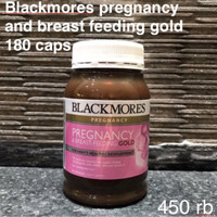 Jual Blackmores Pregnancy & Breast-Feeding GOLD Murah