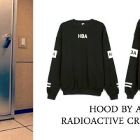 sweater HBA Radioactive Sweater Hood By air