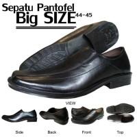 Sepatu Pantofel Kulit Pria - BIG SIZE - 44 - 45