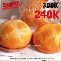 Jual PROMO SUPER MEGA SALE Ibloom Boule Squishy (Roti Bulat Jumbo Original) Murah