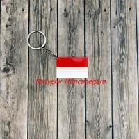 Jual Jual Gantungan Kunci Bendera Indonesia Untuk Souvenir  Murah