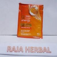 Makarizo Hair Energy Masker Rambut - Royal Jelly Extract Sachet 60 gr