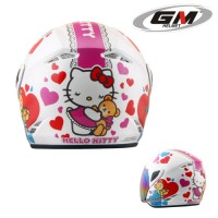 Helm Anak GM Evoteen Hello Kitty