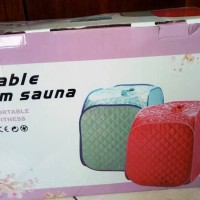 Jual Portable Steam Sauna Cara mudah bakar lemak tdk perlu ke mana2