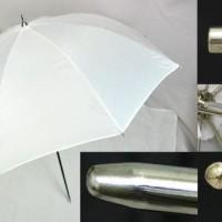 Jual Translucent Umbrella / Payung Putih Transparan 40'' Murah