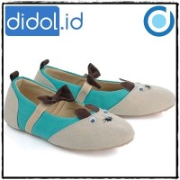Flat Shoes Anak Perempuan - Sepatu Casual Slip On Tikus BCKL 181 ARL