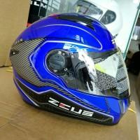 Helm Zeus ZS-811 Yamaha Blue/AL17 Black