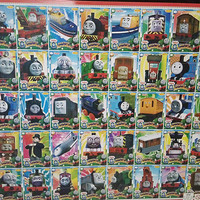 poster gambaran anak motif loko kereta thomas