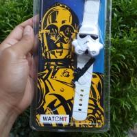 Jual Star Wars LCD Watch 2 Storm Trooper Murah