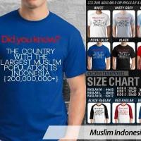 Muslim Indonesia 1 CR - BAJU KAOS DISTRO PRIA WANITA ANAK OCEAN SEVEN