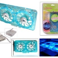 Vantec Spectrum PCI Cooler Card UV (Ultraviolet/Ultra Violet) Reactive