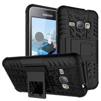Samsung J1 ace J120 2016 RUGGED ARMOR  soft case casing back cover hp